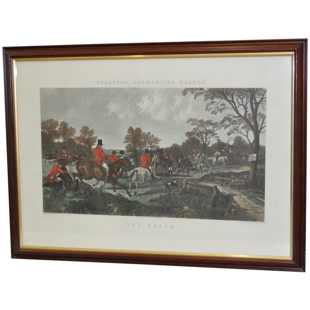 19th Century Fox Hunt Engravings - Set of 4 - Image 1 of 8