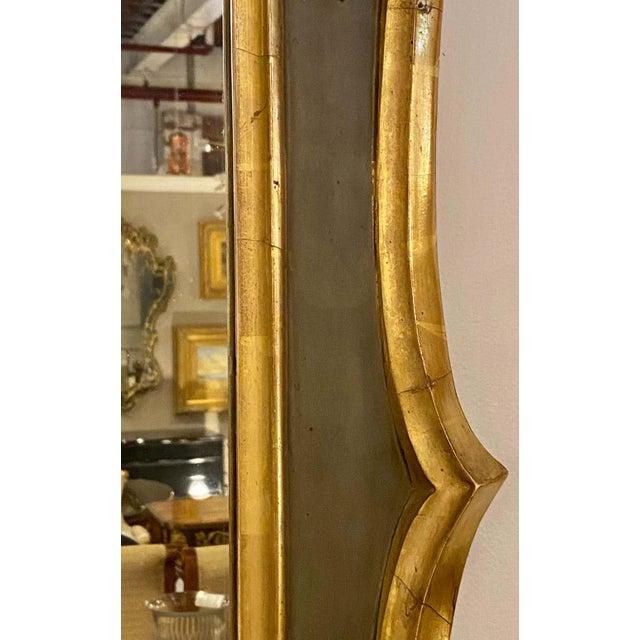 Belle Époque Style Wall or Over Mantel Mirror Art Nouveau Form For Sale - Image 10 of 13