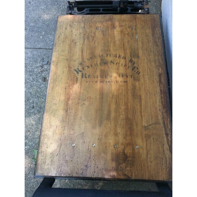 Antique Grain Scale Coffee Table - Image 6 of 7