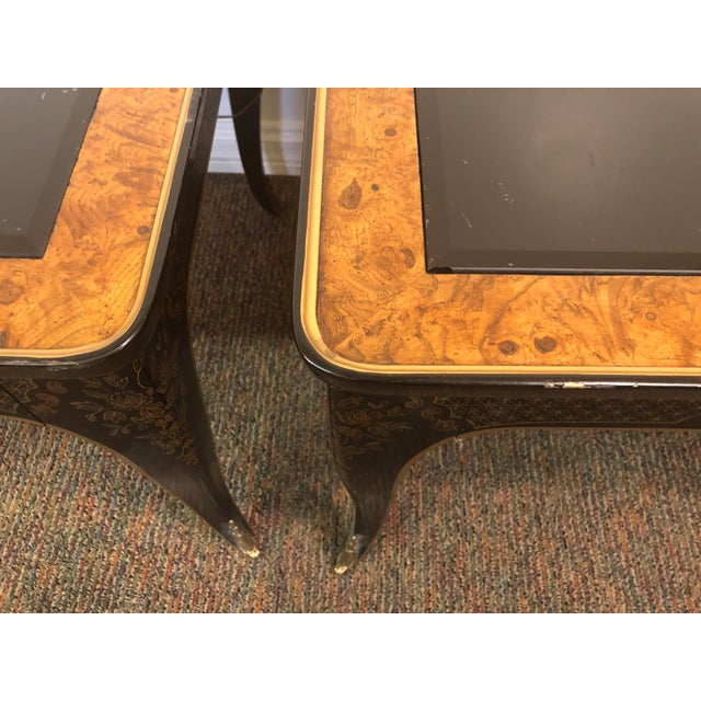 1960s Drexel Heritage Et Cetera Collection Side Tables - a Pair For Sale In Chicago - Image 6 of 12