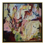 """Image of Laurie MacMillan """"Where I've Never Been"""" Abstract Painting For Sale"""