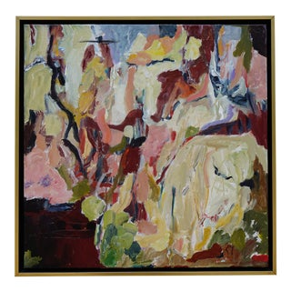 "Laurie MacMillan ""Where I've Never Been"" Abstract Painting For Sale"