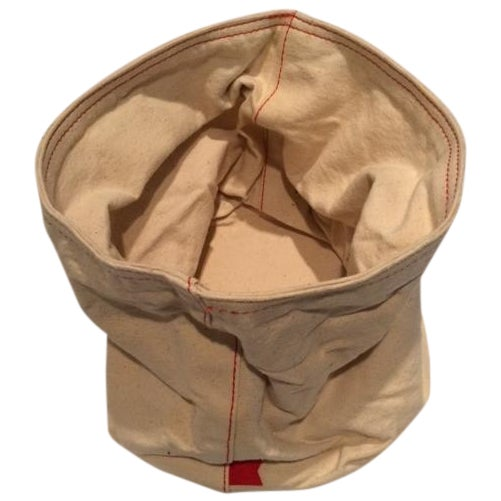 West Elm Canvas Bread Bag For Sale