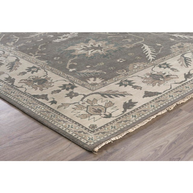 Traditional Stark Studio Rugs Traditional Mali Wool Rug - 8′ × 9′10″ For Sale - Image 3 of 5