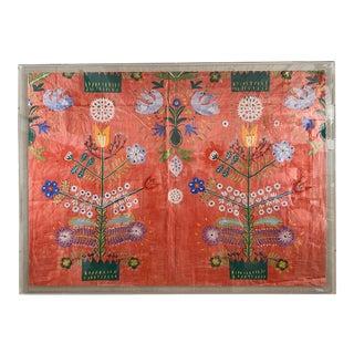 Paule Marrot's Fete in Acrylic Frame For Sale
