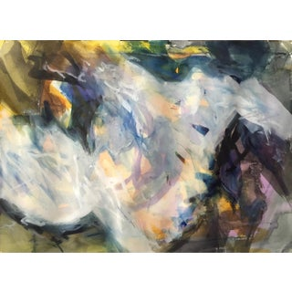 """Space Cauldron"" Original Watercolor Painting For Sale"