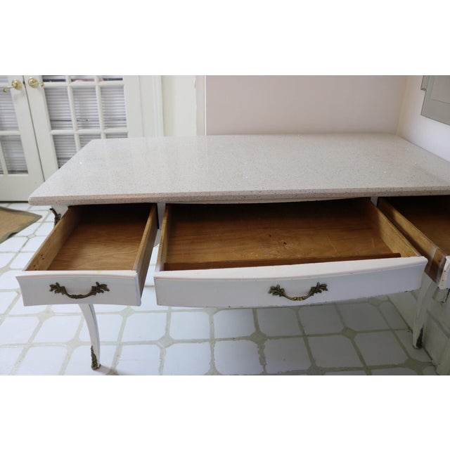 20th Century Victorian Style Writing Desk For Sale - Image 13 of 13