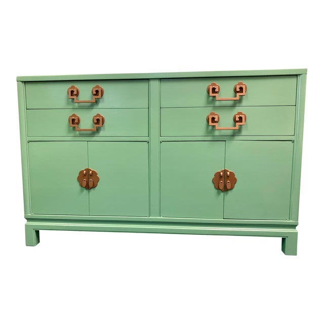 1960s Landstrom Furniture Co. Chinese Chippendale Sideboard For Sale