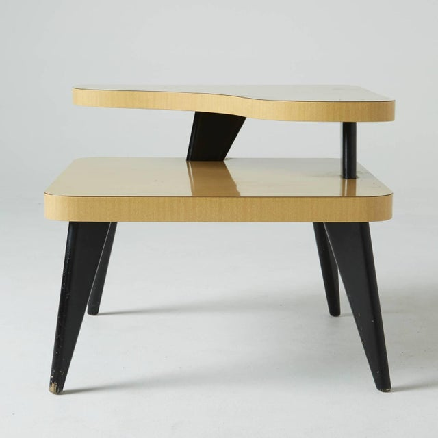 Two-Tier Mid-Century Side Tables - A Pair - Image 4 of 7