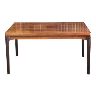 1970s Danish Modern Vejle Rosewood Dining Table