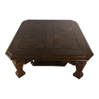 Stanley Wooden Coffee Table For Sale
