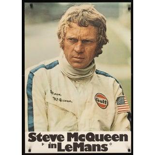 "Steve McQueen ""Le Mans"" 1971 Film Poster"