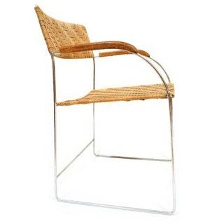 1970s Vintage Chrome Arm Chair Preview