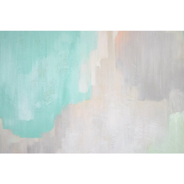 Modern Pastel Abstract Expressionist Oil Painting Sarah Brooke Australian For Sale In Chicago - Image 6 of 9