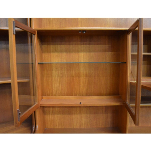 Mid Century Teak Wall Unit By Nathan Furniture - Image 5 of 11