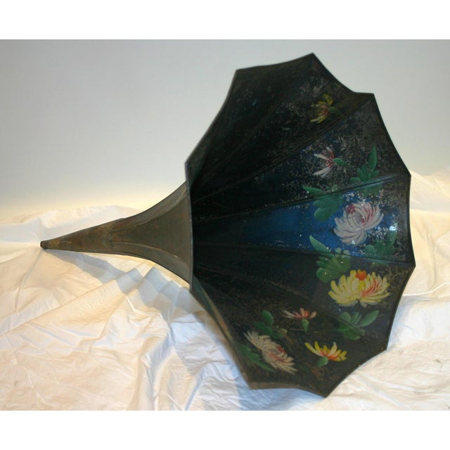 Hand Painted Victrola Speaker Cone - Image 2 of 4