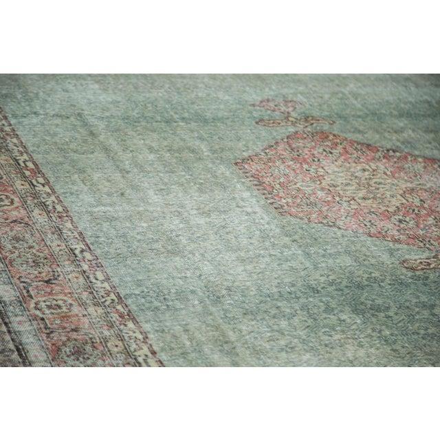 "Distressed Oushak Carpet - 8'6"" X 11'6"" - Image 3 of 10"