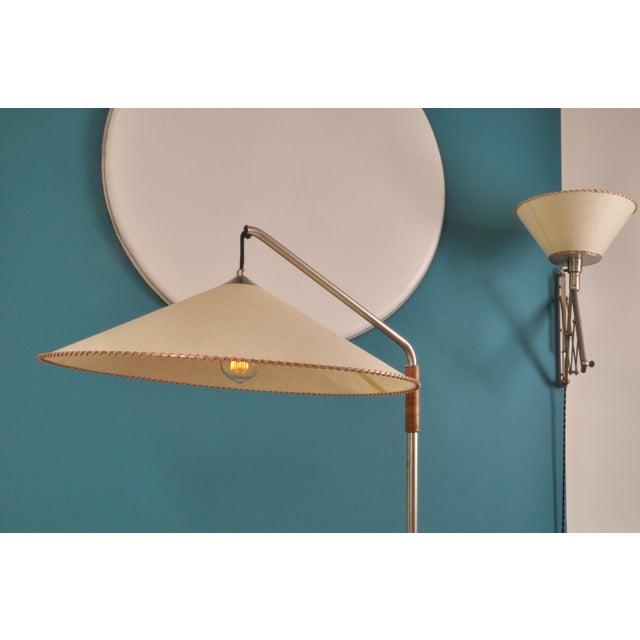 BAG Turgi Telescopic Floor Lamp by Bag Turgi, Switzerland, 1930s For Sale - Image 4 of 10