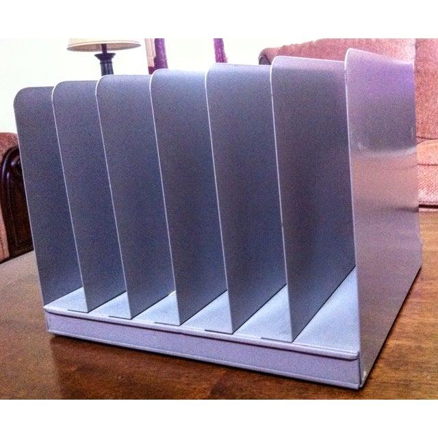 Vintage Metal Desktop Steampunk Paper Sorter - Image 6 of 6