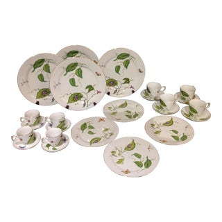Godinger Painted Porcelains, 16 Pcs.