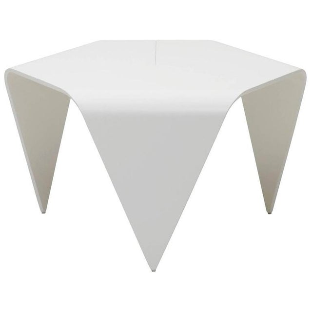 Authentic Trienna Table in White Lacquer by Ilmari Tapiovaara & Artek For Sale In Los Angeles - Image 6 of 6
