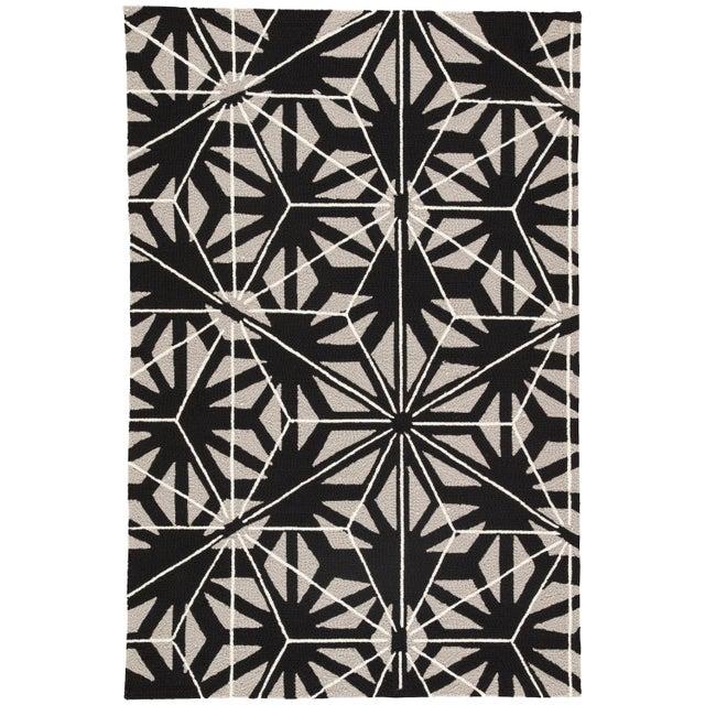 Jaipur Living Haige Indoor/ Outdoor Geometric Black/ Gray Area Rug - 2′ × 3′ For Sale In Atlanta - Image 6 of 6