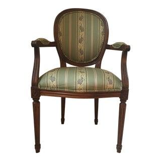 Ethan Allen Louis XVI Accent Chaiir For Sale