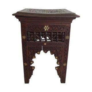 Victorian Era Moroccan Side Table