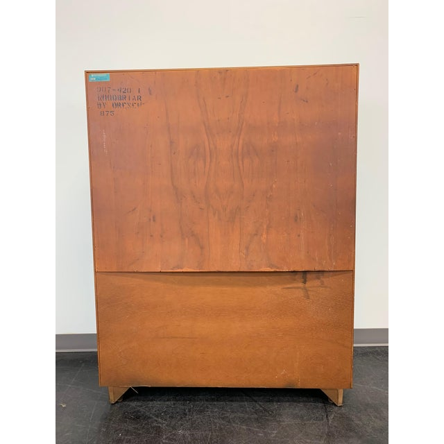 Drexel Heritage Woodbriar Pecan Campaign Style Gentleman's Chest / Armoire For Sale In Charlotte - Image 6 of 13