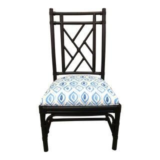 Taylor Burke Home Fretwork Ebony Chair