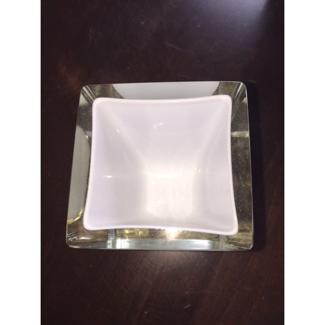Glass Candle Holders - Set of 4 For Sale - Image 5 of 5