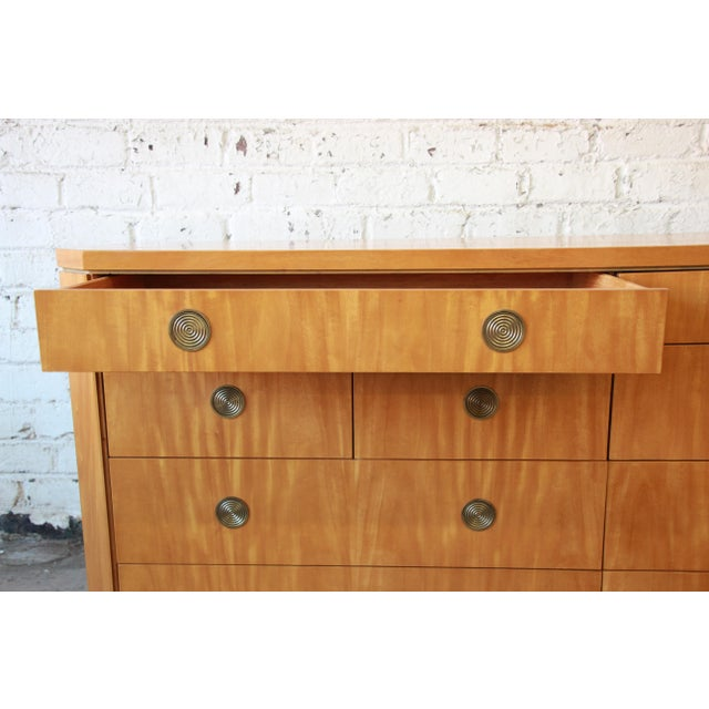 Charles Pfister for Baker Primavera Ten-Drawer Long Dresser For Sale In South Bend - Image 6 of 11