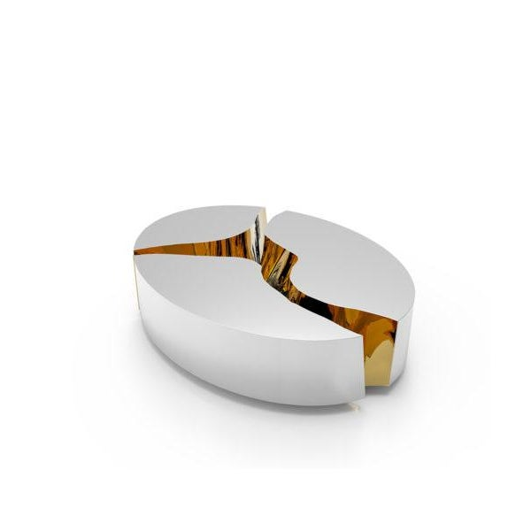 Chrome Covet Paris Lapiaz Oval Sideboard For Sale - Image 8 of 8