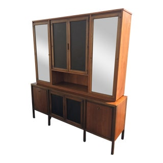 Mid-Century Basic Witz Hutch With Reversible Doors