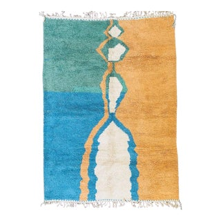 1960s Moroccan Beni Ourain Rug-8′1″ × 11′1″ For Sale