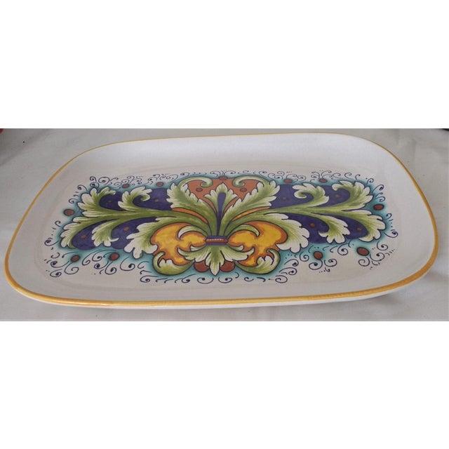Nova Deruta Raffaellesco Platter/Tray - Image 3 of 5