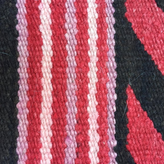 Vintage Navajo Style Rug - 2′6″ × 2′6″ For Sale - Image 4 of 5