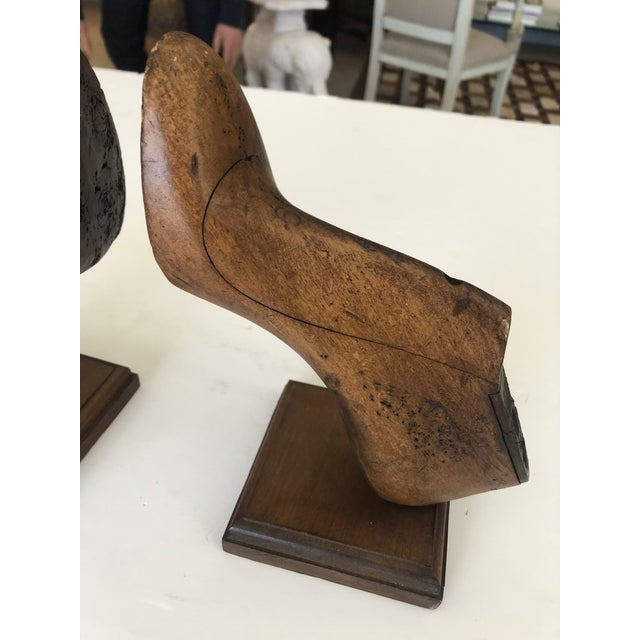 Mid 19th Century 19th Century Shoe Mold Bookends - a Pair For Sale - Image 5 of 10