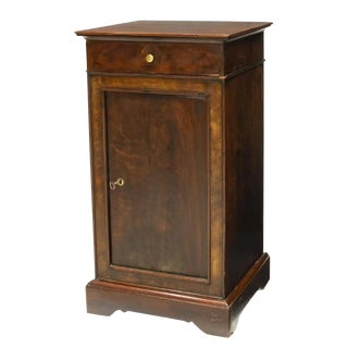 19th Century French Louis Philippe Period Mahogany Side Cabinet For Sale