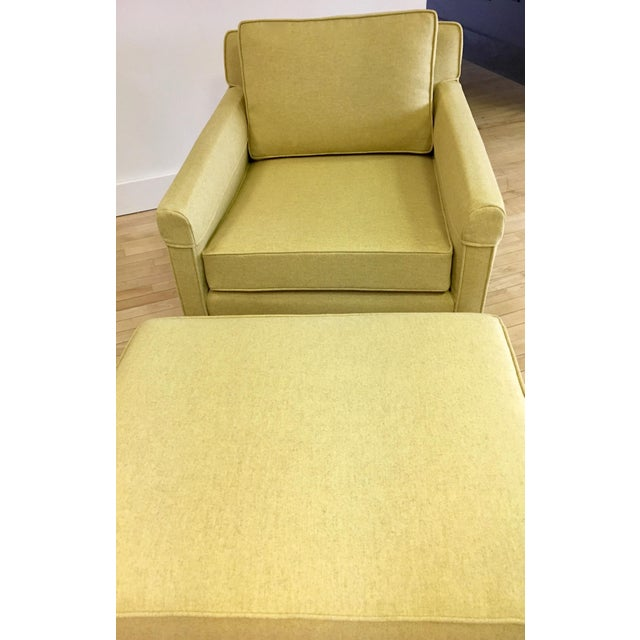 This is an ultra-comfy chair and ottoman set that has some of the most remarkable proportions that we have ever seen. It...