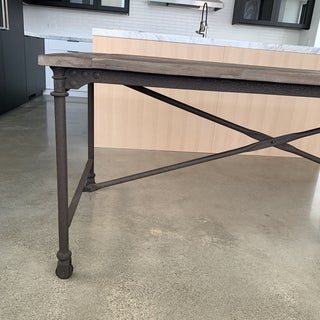 Restoration Hardware Flatiron Dining Table Preview
