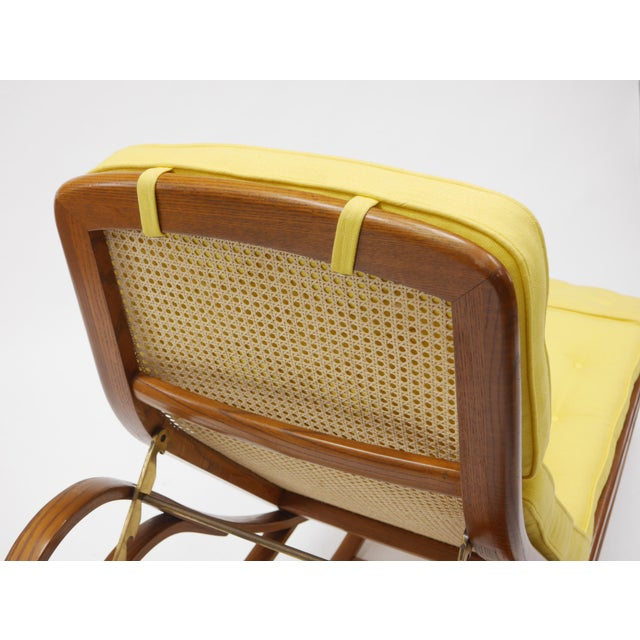 Chaise Lounge by Edward Wormley for Dunbar For Sale - Image 11 of 12