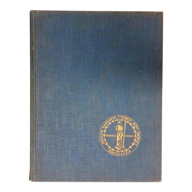 """1959 """"Mortarboard: Barnard College Yearbook"""" Coffee Table Book For Sale"""