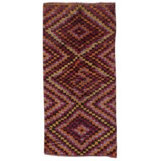 Three-Diamond Tulu Rug For Sale