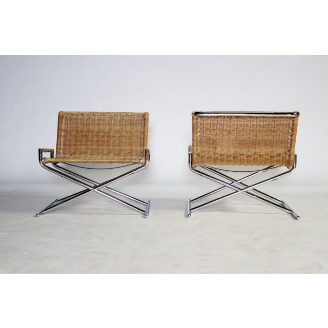Ward Bennett Brickel Sled Chairs For Sale - Image 11 of 11