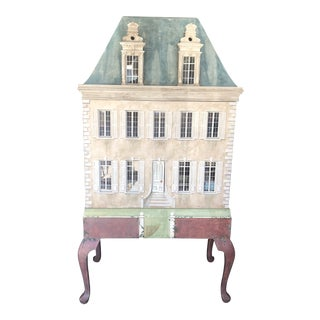 1980s Eric Lansdown Wooden Dollhouse For Sale