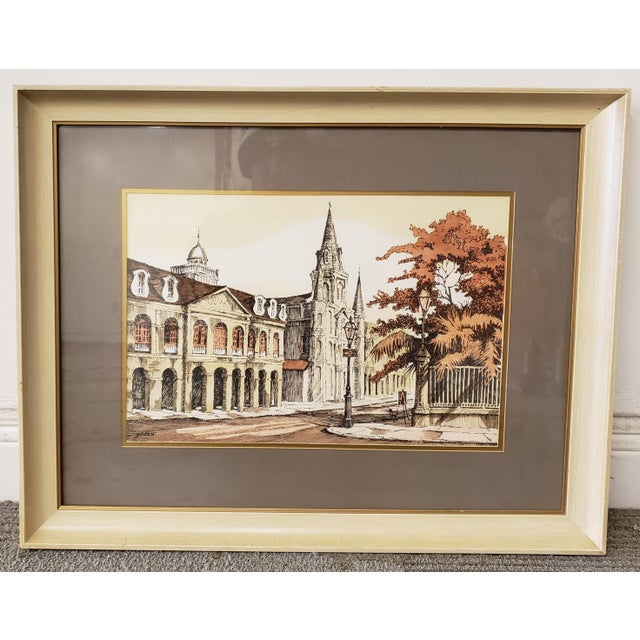 Rolland Golden Jackson Square Print For Sale - Image 4 of 4