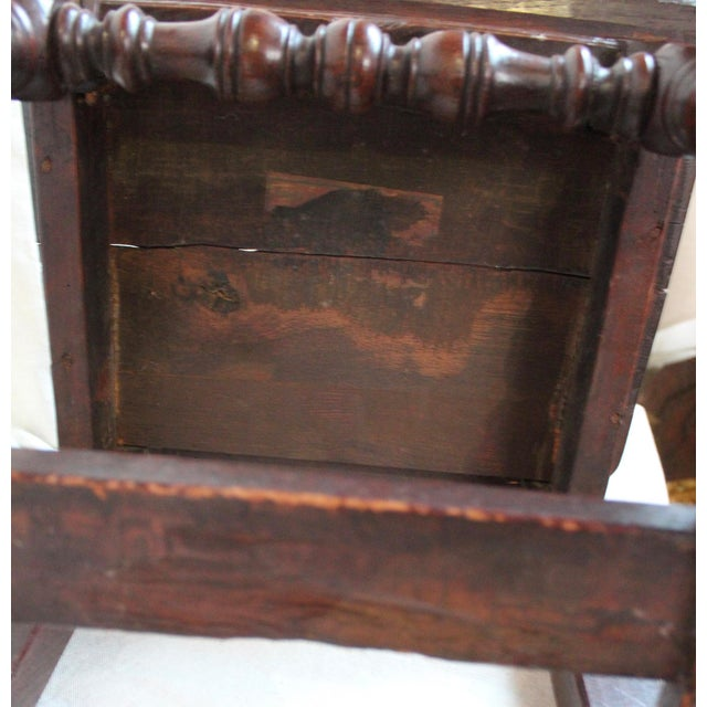 Antique Oak Nun's Chairs - Set of 3 - Image 7 of 10