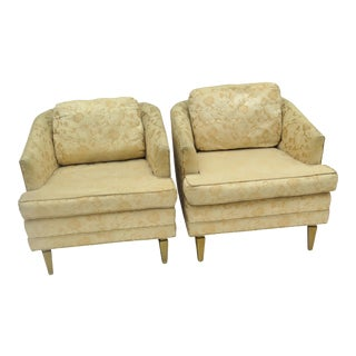 """1950s Vintage """"Hollywood Furniture"""" Side Chairs- A Pair For Sale"""