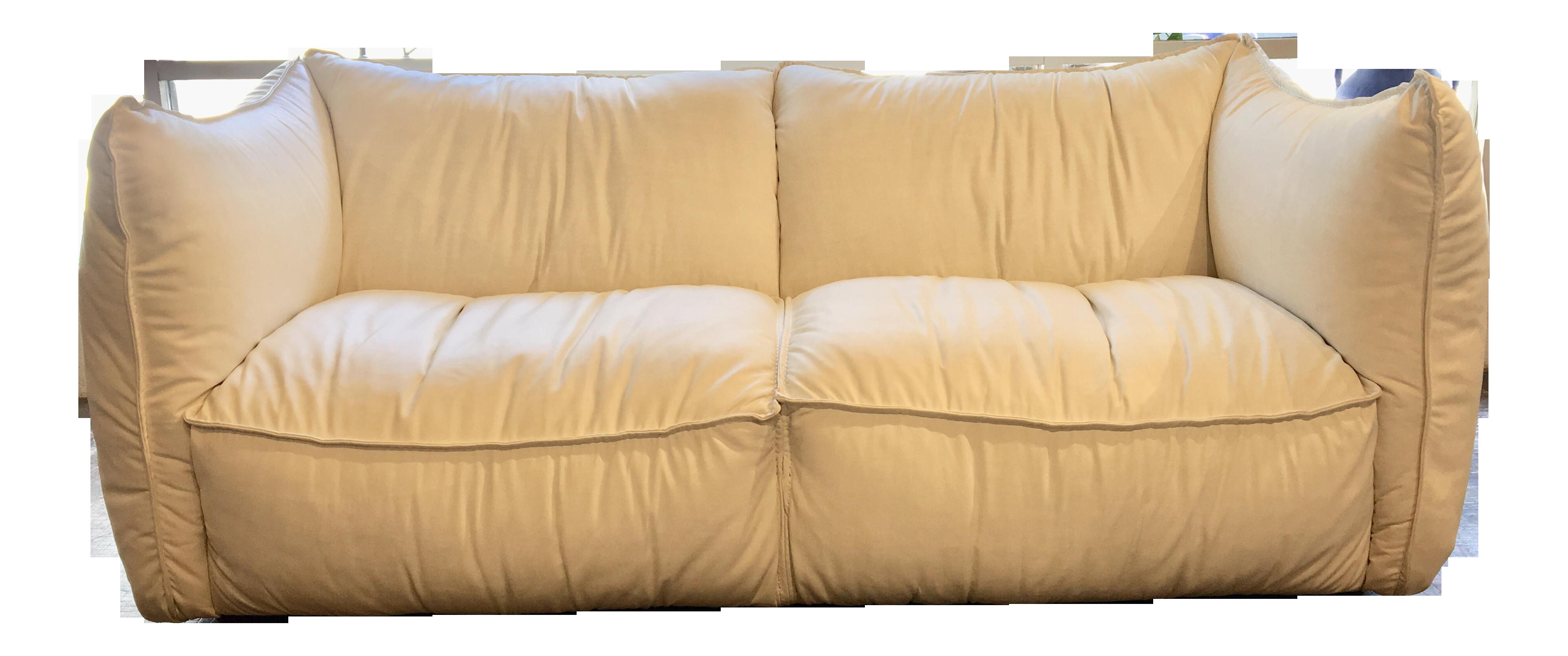 Contemporary Eleanor Rigby White Leather Sofa